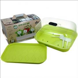 Minipařeniště Green Basics Allin grow it lime green