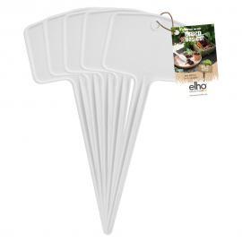 Jmenovka zapichovací Green Basics Plantlabels L bílá 5ks
