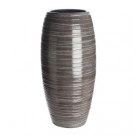 Váza Loomy 30x15 šedá