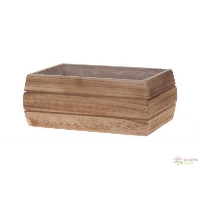 Dřevěný box 26x16x10cm přírodní