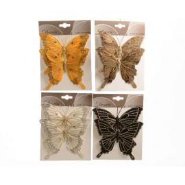 Motýl na drátku 14cm