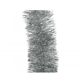 Vánoční řetěz 270 cm stříbrný 1ks