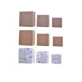 Papírová dárková krabice mix 3ks
