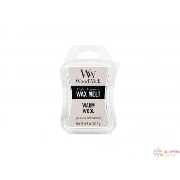 WoodWick Warm Wool vonný vosk