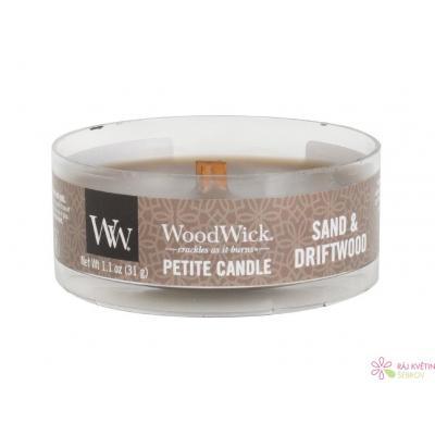WoodWick Sand & Driftwood svíčka petite