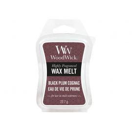 WoodWick Black Plum Cognac vonný vosk
