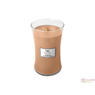 WoodWick Golden Milk váza velká