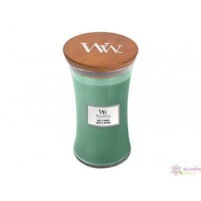 WoodWick Sage & Myrht váza velká