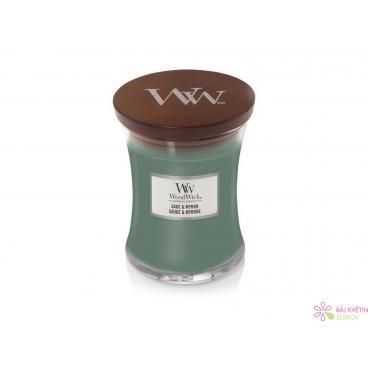Woodwick Sage & Myrth váza střední