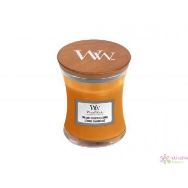 WoodWick Caramel Toasted Sesame váza malá