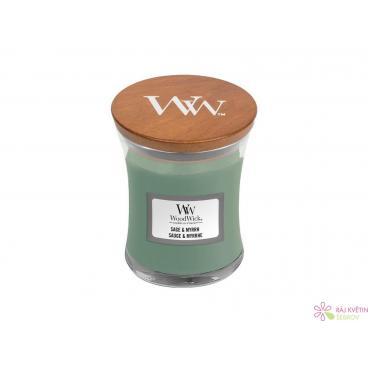 WoodWick Sage & Myrth váza malá