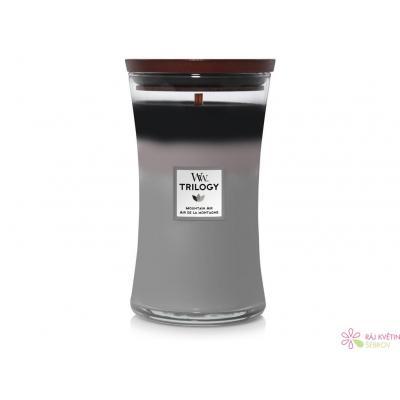 WoodWick Trilogy Mountain Air váza velká