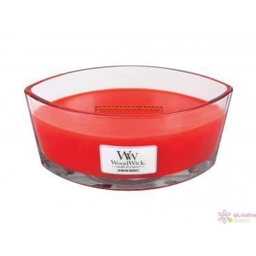 WoodWick Crimson Berries svíčka loď