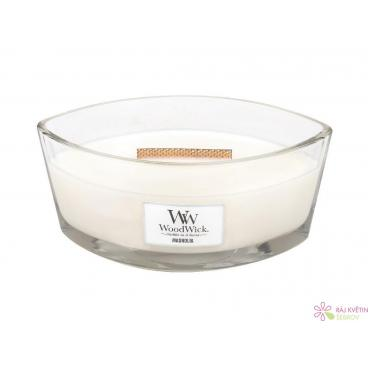 WoodWick Magnolia svíčka loď
