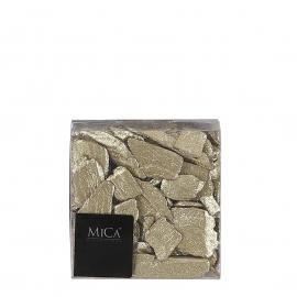 Dřívka 600ml gliitter zlatá