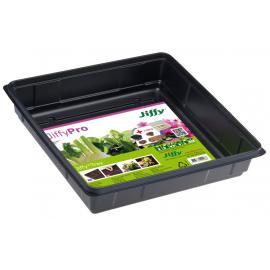 Podní díl minipařeniště Jiffy tray hranatý 28 x28 x 6cm